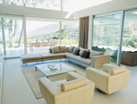 Wealth「Living room of a modern home」:スマホ壁紙(12)