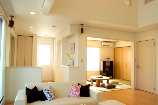 Japanese Culture「Living Room」:スマホ壁紙(17)