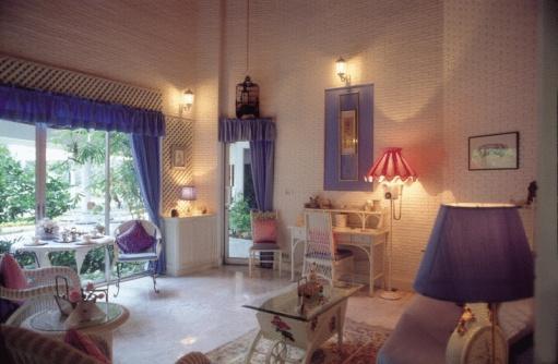 ガーリー「Living room interior」:スマホ壁紙(15)