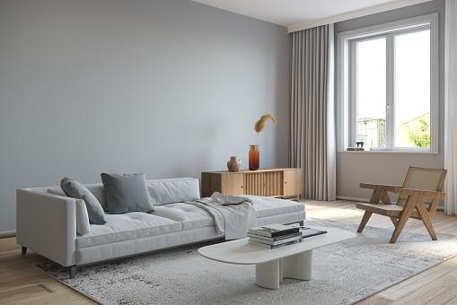 Clean「Living room interior」:スマホ壁紙(12)