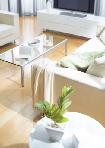 スカーフ「Living room」:スマホ壁紙(3)