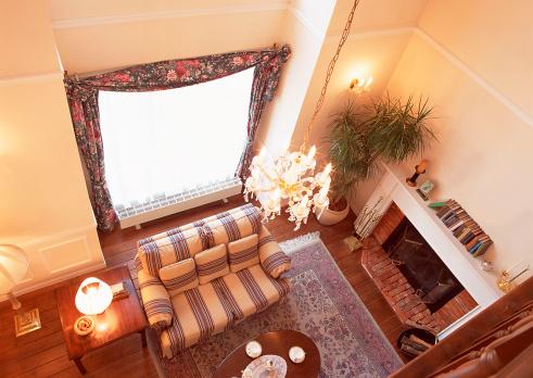 Desk Lamp「Living Room」:スマホ壁紙(2)