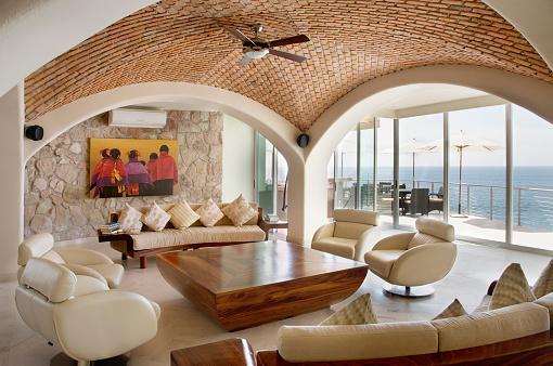 Ceiling Fan「Living Room in Villa Guillermo」:スマホ壁紙(14)