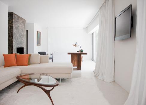 Curtain「Living room」:スマホ壁紙(7)