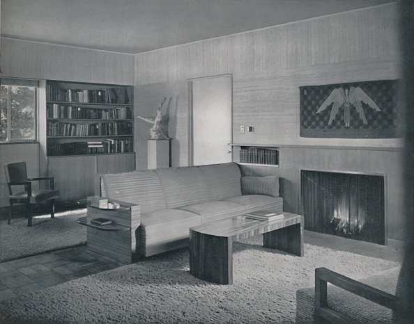 Model Home「Living Room Designed By Honor Easton And Alyne Whalen In A House In Los Angeles」:写真・画像(17)[壁紙.com]