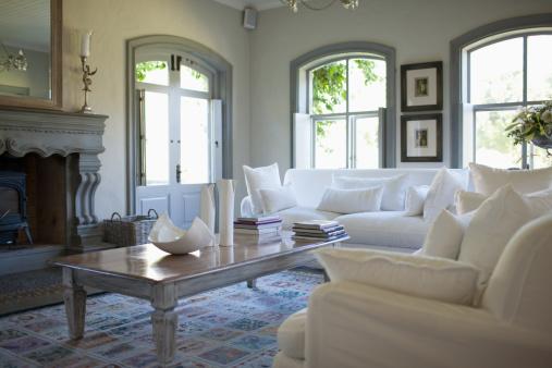 Home Interior「Living room」:スマホ壁紙(1)