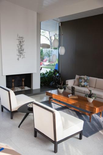 Domestic Life「Living room in modern home」:スマホ壁紙(17)