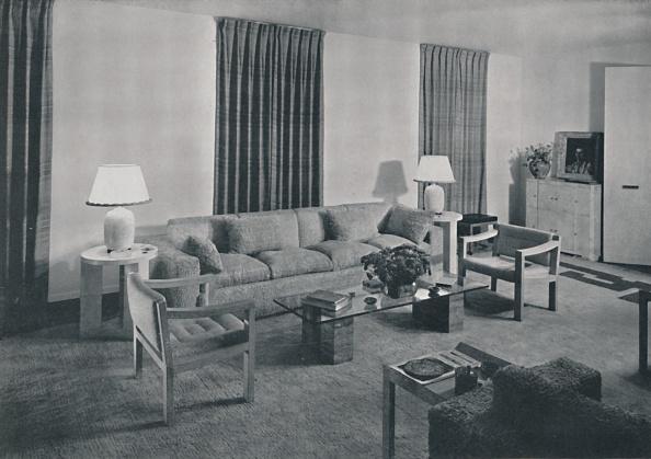 Model Home「Living Room In The Apartment Of Samuel A Marx」:写真・画像(18)[壁紙.com]
