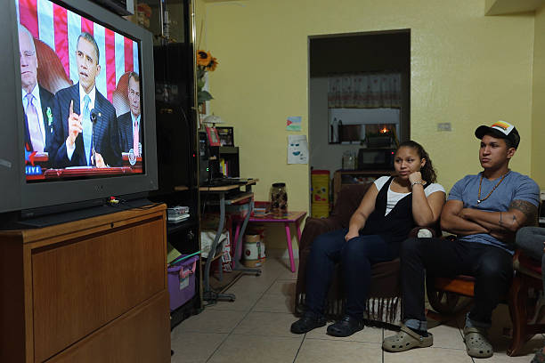 Miami Area Residents Watch Obama's State Of The Union Address:ニュース(壁紙.com)