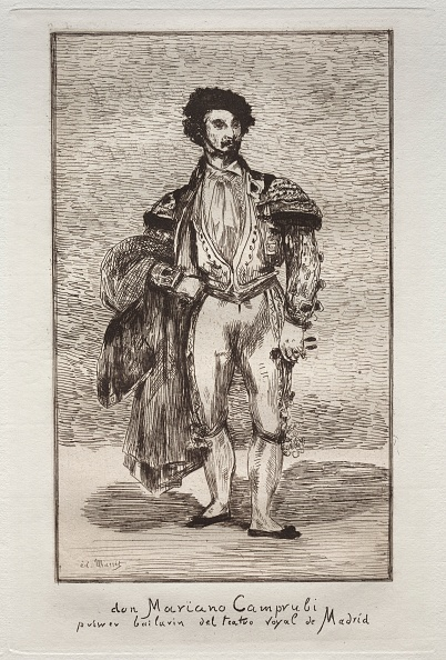 Etching「Le Bailarin ( Don Mariano Camprubi ). Creator: Edouard Manet (French」:写真・画像(15)[壁紙.com]