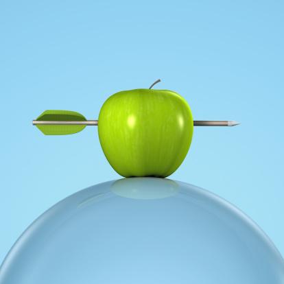 Success「Arrow in a Green Apple on a Glass Sphere」:スマホ壁紙(2)