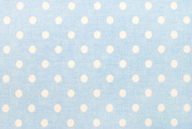 white polka dots on blue:スマホ壁紙(壁紙.com)