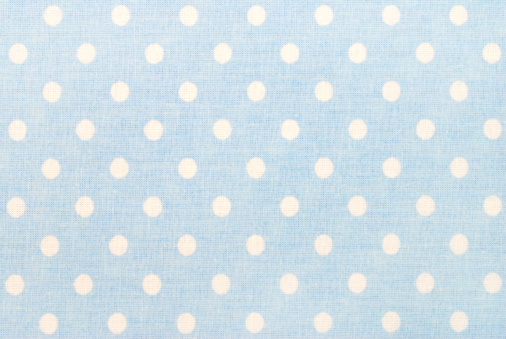 Light Blue「white polka dots on blue」:スマホ壁紙(1)