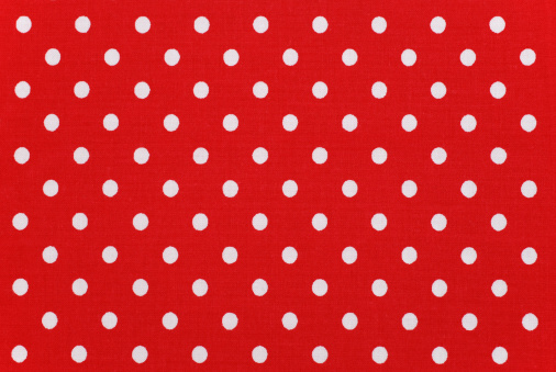 Polka Dot「white polka dots on red fabric」:スマホ壁紙(2)