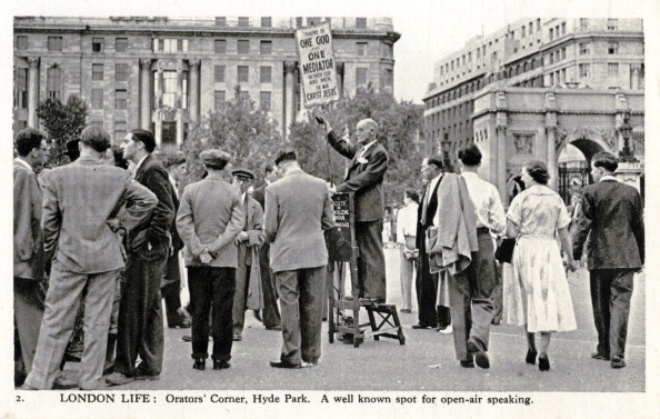 City Life「Speakers' Corner, Hyde Park, London」:写真・画像(6)[壁紙.com]