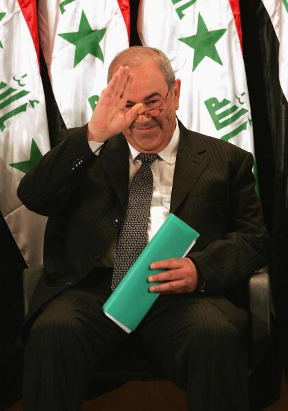 Ayad Allawi「Iraqi Interim Government Sworn In After Handover」:写真・画像(8)[壁紙.com]