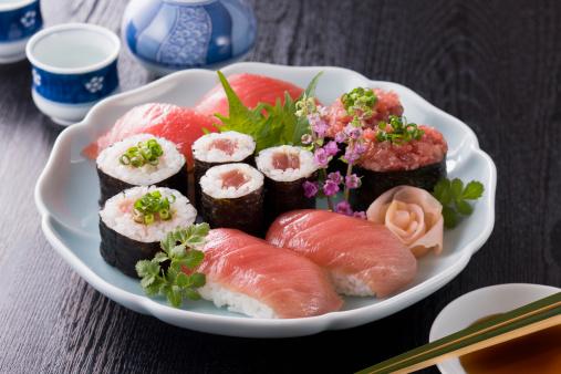 Sake「Various Tuna Sushi」:スマホ壁紙(7)