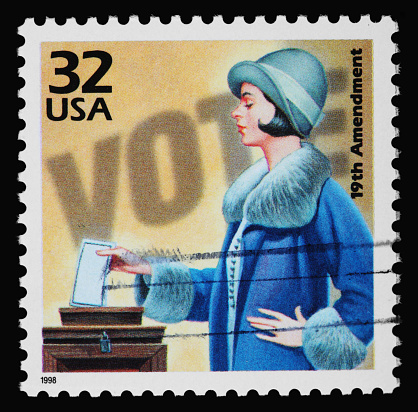 Election「Women's Voting Stamp」:スマホ壁紙(14)