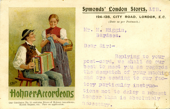 Accordion - Instrument「English advertisement for Hohner Accordions」:写真・画像(4)[壁紙.com]