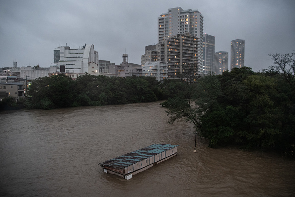 Tokyo - Japan「Typhoon Hagibis Hits Tokyo」:写真・画像(18)[壁紙.com]