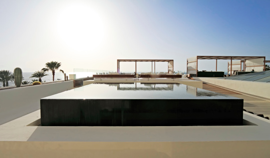 Summer Resort「Infinity pool, Tenerife」:スマホ壁紙(16)