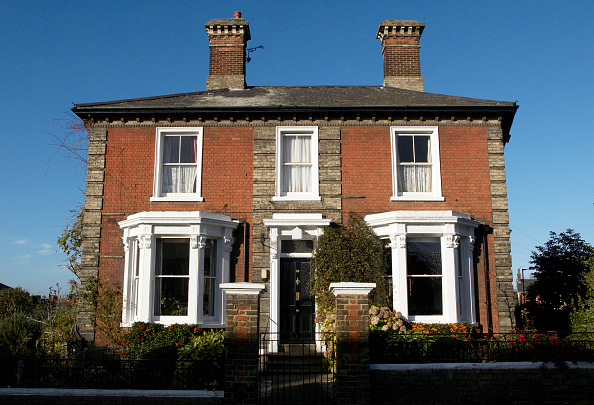 屋外「Large detached Edwardian townhouse, Ipswich UK」:写真・画像(15)[壁紙.com]