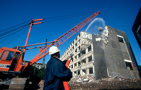 Demolishing「Demolition of an Estate in Wembley, North London.」:写真・画像(15)[壁紙.com]