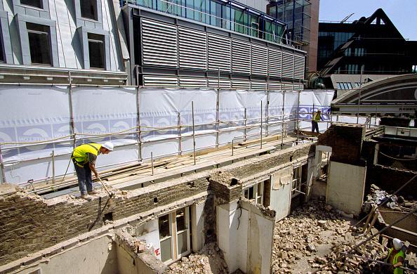 Dust「Demolition of a building, City of London」:写真・画像(9)[壁紙.com]
