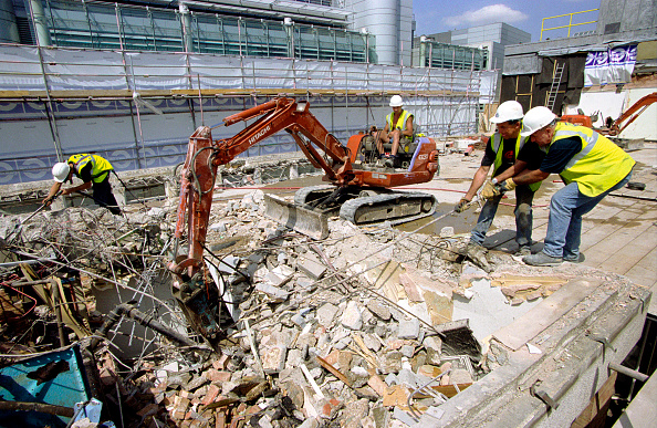 Earth Mover「Demolition of a building, City of London」:写真・画像(13)[壁紙.com]