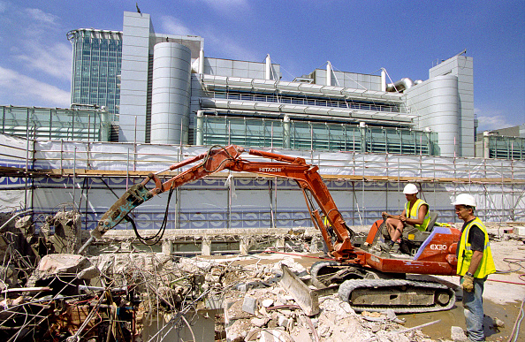 Earth Mover「Demolition of a building, City of London」:写真・画像(16)[壁紙.com]