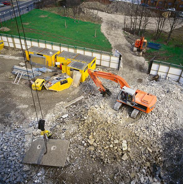 Danger「Demolition of East London tower block (removal of pre-fab panel).」:写真・画像(0)[壁紙.com]