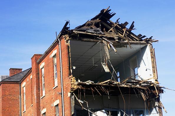 Deterioration「Demolition of Dulwich hospital, East Dulwich, London, UK.」:写真・画像(18)[壁紙.com]