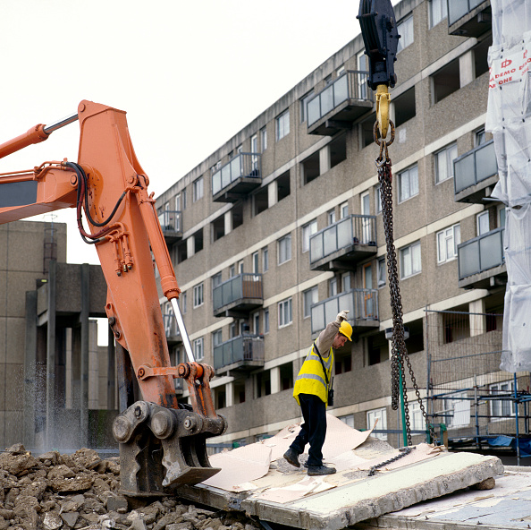 Vitality「Demolition of a council estate, United Kingdom」:写真・画像(6)[壁紙.com]