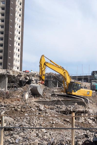 Finance and Economy「Demolition in City of London, UK」:写真・画像(10)[壁紙.com]