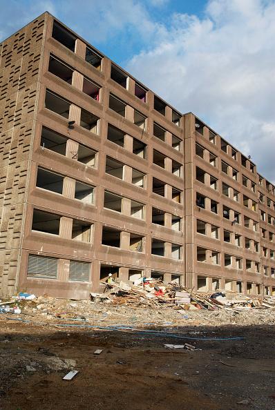 Finance and Economy「Demolition of a housing block, North London, UK」:写真・画像(8)[壁紙.com]