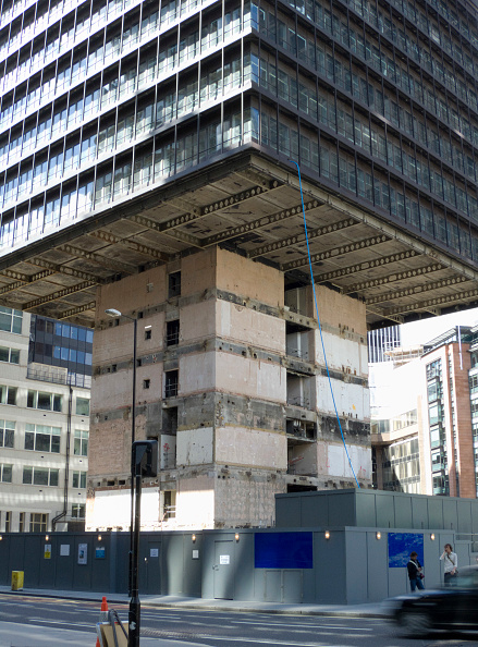 Construction Material「Demolition from the ground up of 122 Leadenhall, London, UK」:写真・画像(4)[壁紙.com]
