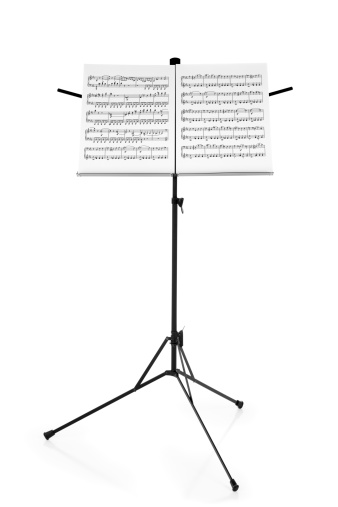 Arts Culture and Entertainment「Stand with Sheet Music」:スマホ壁紙(15)