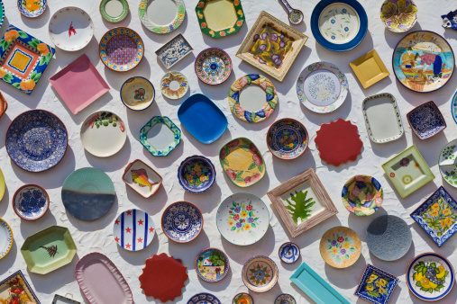Souvenir「Portugal, Lagos, Varieties of ceramic plates」:スマホ壁紙(2)