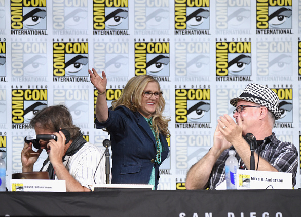 "David Silverman「Comic-Con International 2017 - ""The Simpsons"" Panel」:写真・画像(14)[壁紙.com]"