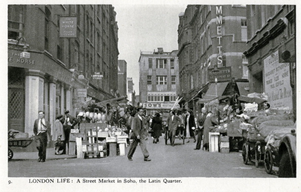 Heritage Images「Street market in the Latin Quarter, Soho」:写真・画像(19)[壁紙.com]