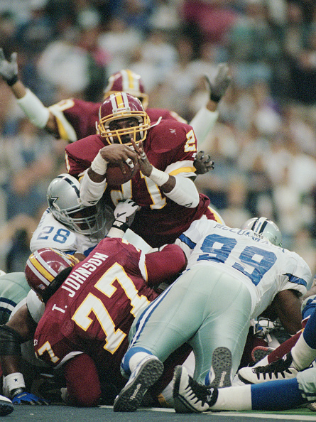 Touchdown「Washington Redskins vs Dallas Cowboys」:写真・画像(6)[壁紙.com]