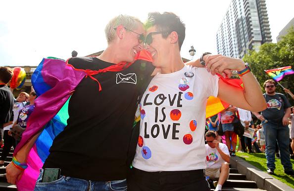 オーストラリア「Australians Gather To Hear Result Of Marriage Equality Survey」:写真・画像(9)[壁紙.com]
