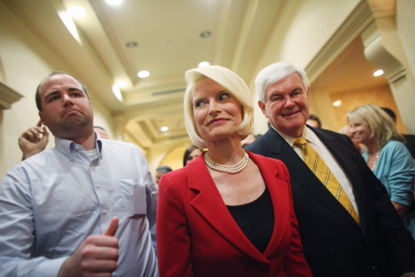 Naples - Florida「GOP Presidential Hopeful Newt Gingrich Holds Town Hall In Southern Florida」:写真・画像(11)[壁紙.com]