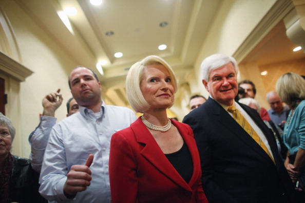 Naples - Florida「GOP Presidential Hopeful Newt Gingrich Holds Town Hall In Southern Florida」:写真・画像(10)[壁紙.com]