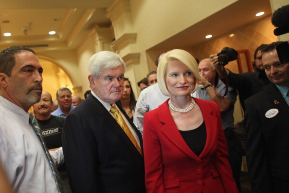 Naples - Florida「GOP Presidential Hopeful Newt Gingrich Holds Town Hall In Southern Florida」:写真・画像(15)[壁紙.com]