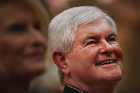 Naples - Florida「GOP Presidential Hopeful Newt Gingrich Holds Town Hall In Southern Florida」:写真・画像(14)[壁紙.com]
