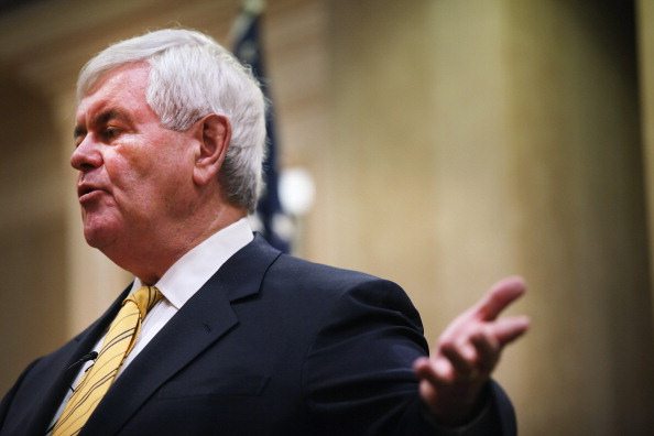 Naples - Florida「GOP Presidential Hopeful Newt Gingrich Holds Town Hall In Southern Florida」:写真・画像(5)[壁紙.com]