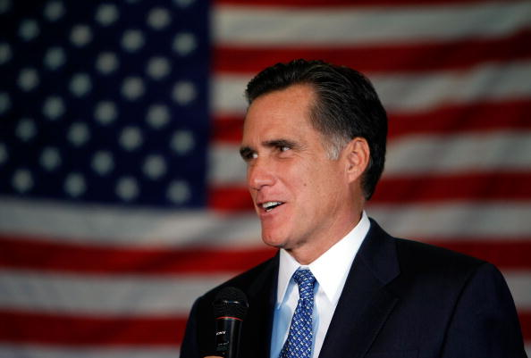 Justin Sullivan「Mitt Romney Hosts Town Hall In Santa Clara」:写真・画像(7)[壁紙.com]