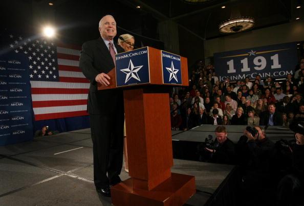 Support「John McCain Celebrates Primary Night In Dallas」:写真・画像(6)[壁紙.com]