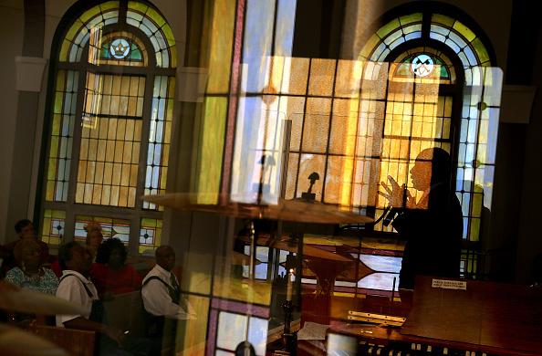 Justin Sullivan「Republican Presidential Candidate Ben Carson Speaks At Sunday Church Service In Iowa」:写真・画像(10)[壁紙.com]